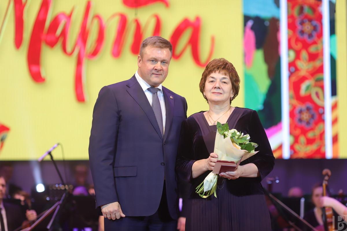 Поздравление женщин губернатор 8 марта