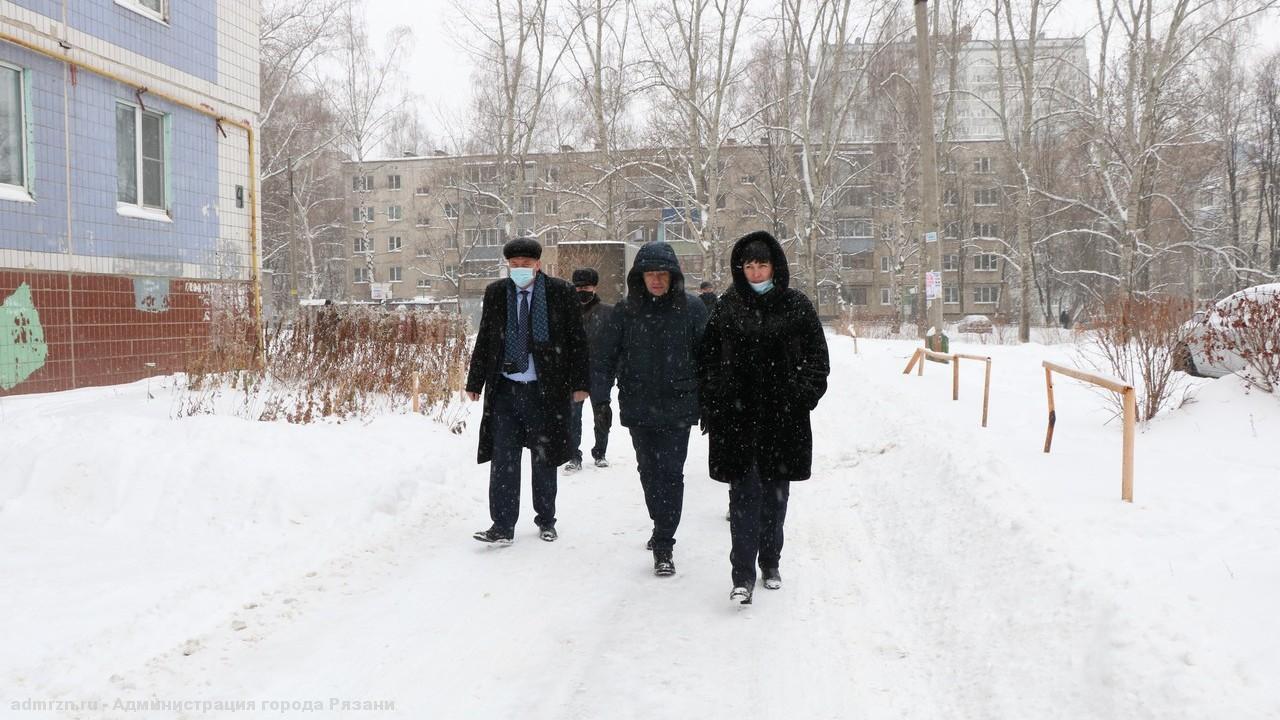 В Рязани проверяют качество уборки снега