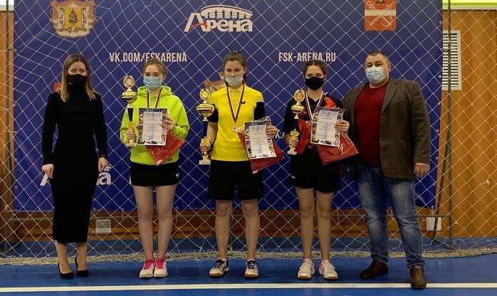 Состоялось первенство Рязанской области по настольному теннису